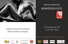 "I would kindly like to invite you to my artworks exhibition in Warsaw at ""Galeria Schody""."