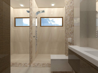 "BATHROOM WITH SAUNA – PRIZE HOUSE IN THE POLISH VERSION OF 'BUILDING THE DREAM"" TV SHOW"
